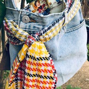Handmade Levis bag!